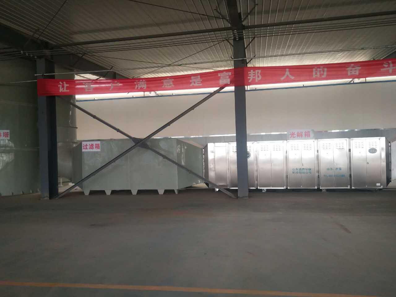 徐州丰县某公司喷涂废气处理