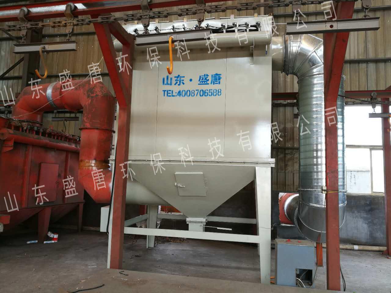 济南章丘某公司铸造除尘废气处理工程案例